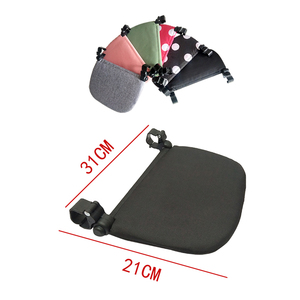 Image 5 - Stroller Accessories for Babyzen Yoyo+ Footrest Baby Time Yoya Foot Rest Infant Carriages Feet Extension Pram Foot board 21Cm
