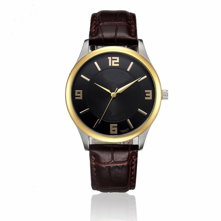 Luxury Men s Date Watch Stainless Steel Leather Analog Quartz Military Watch relogio masculino esportivo relojes