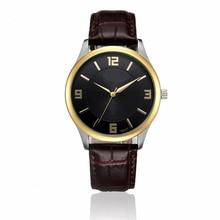 Los Hombres de lujo Fecha de Acero Inoxidable Reloj de Cuero de Cuarzo Analógico relojes hombre Reloj Militar del relogio masculino esportivo july13