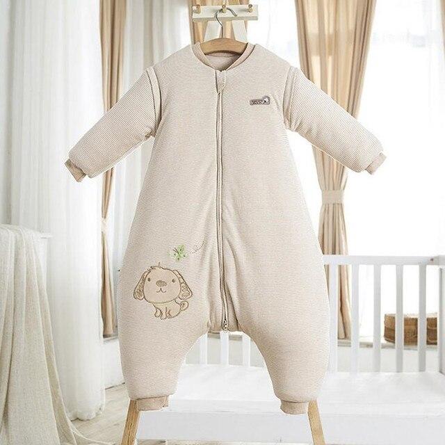 Новый Младенческая Зима Спальный мешок Мягкого хлопка sleepingsack wrap тип безопасности ребенка спальный мешок детские Коляски Кровать Одеяло Пеленать