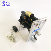 5pcs Plastic Panel Advanced Front Entry Mechanism Coin Selector Coin Acceptor For Vending Machines Arcade Machines
