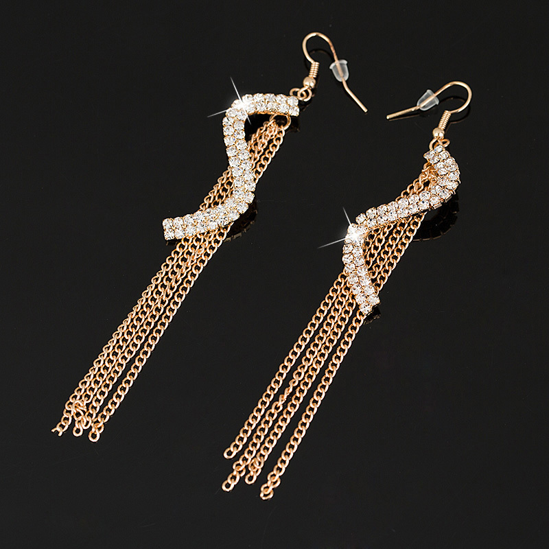 Free shipping gold silver earring fashion earrings jewelry for Costume jewelry for evening gowns