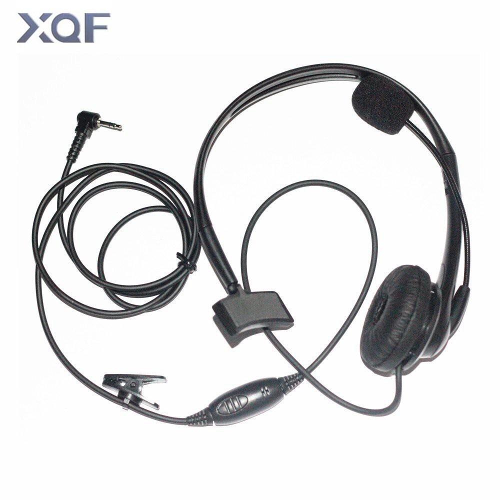 imágenes para Auricular Headset w/Micrófono Para Motorola Walkie Talkie Radios Talkabout Radio XTR XTR446 1pin