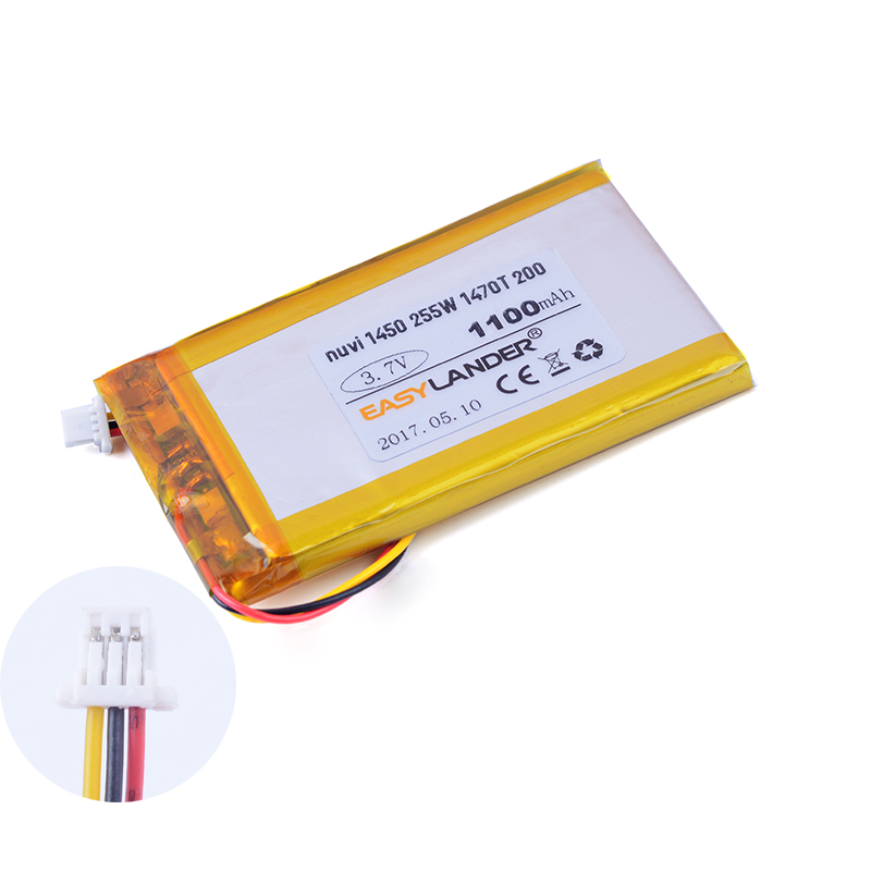 3 7v 1100mah Ed38bd4251u20 Rechargeable Li Polymer Battery