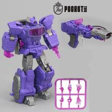 Lensple PT Transformation Shockwave  PT03 PT-03G1 Mini Pocket War KO DX9 Action Figure Robot Toys For Gift