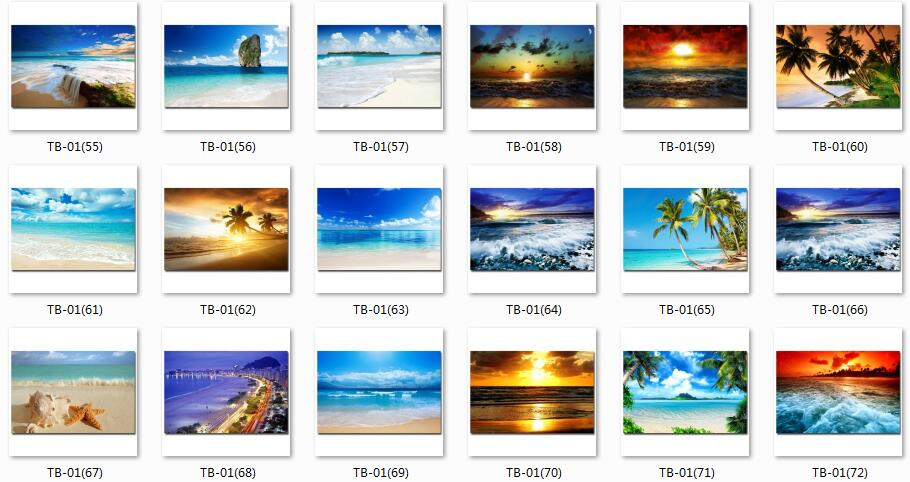 "Tropical Sea Beach Sky Nature Art Silk Poster Print 13x20 24x36/"" 047 Sunshine"