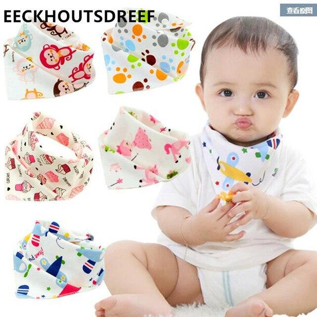 100% Cotton new Baby babador bandana bibs for babies Scarf boys Girls baby bib burp Cloths 10pcs/lot D-MQW8698-10P
