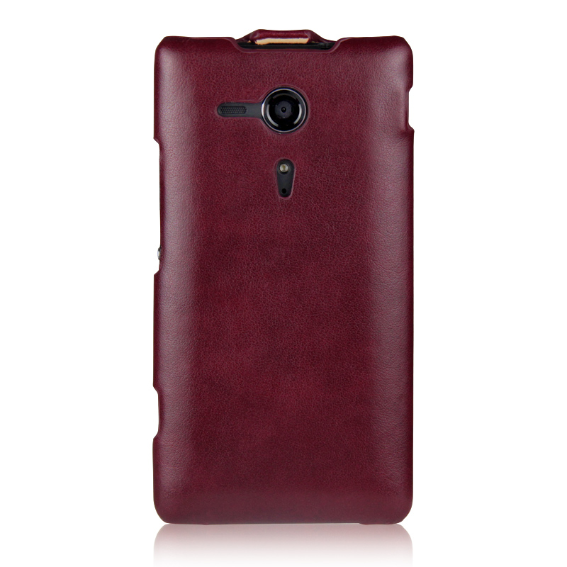 uk availability 3f09d b6e97 for SONY Xperia SP Case Luxury Flip Leather Case for Sony Xperia C5303 M35C  M35h C5302 C5306 Vertical Phone Cover Capa iMUCA
