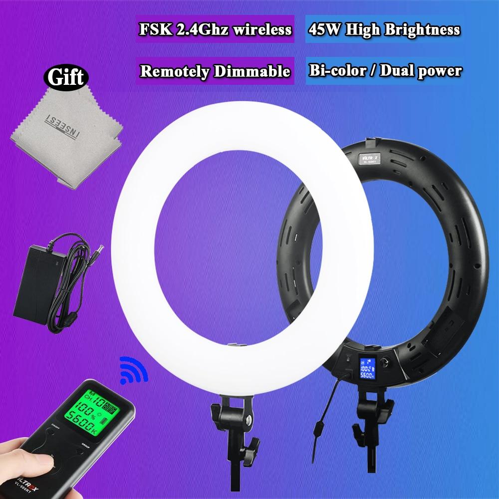 Viltrox VL-600T Draadloze afstandsbediening LED Video Ringlicht Lamp - Camera en foto