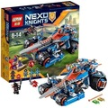 Lepin 14012 Nexus Knights Clay\'s Rumble Blade Jestro Clay Building Block Compatible With 70315