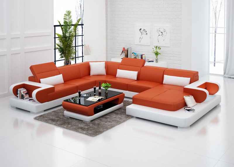 Normal Leather Wooden Sofa Set Designs Prices In Pakistan