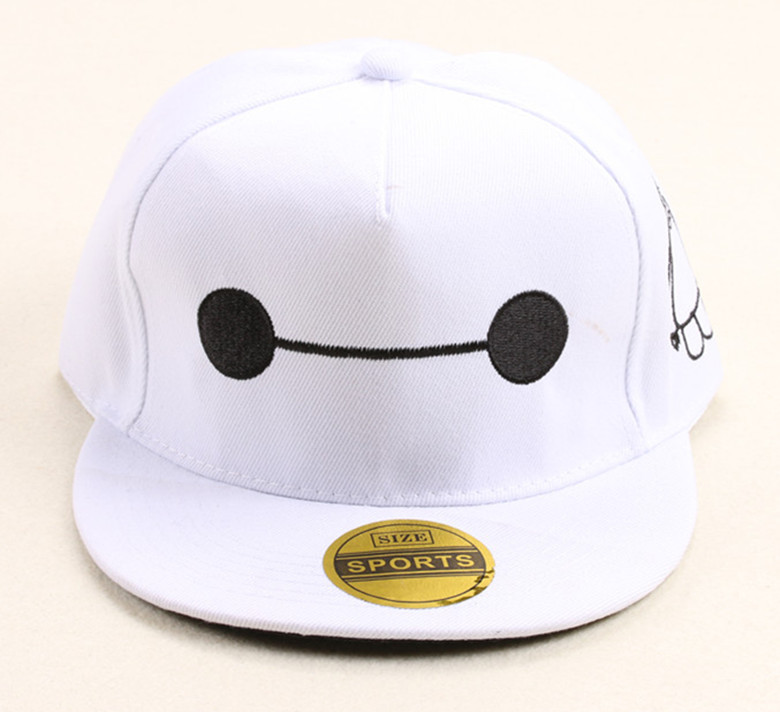 cbc78cd66f6 Fashion Famous Movies Big Hero 6 Baymax Gorras Snapback Caps Hip Hop  Baseball Cap Hats For Gift-in Baseball Caps from Apparel Accessories on  Aliexpress.com ...