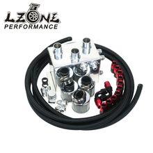 LZONE RACING – Power Driven OIL CATCH TANK CAN / BREATHER TANK RACE KIT FOR Honda Acura VTEC BLACK JR-TK86BK