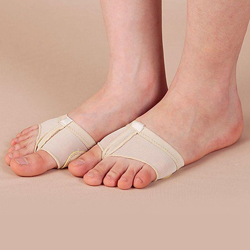 2pcs/Pair Ballet Dance Shoes Gymnastics Foot Thongs Elastic Soft Dancing Shoes Half Sole Accessories