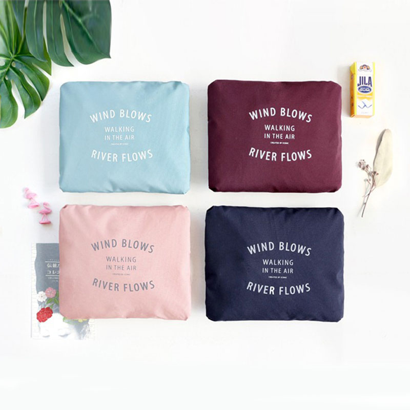 IUX New Fashion Large Capacity Bag Kvinnor Nylon Folding Väska Rese - Väskor för bagage och resor - Foto 5
