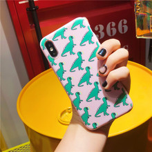 Dinosaur Phone Case for iPhone X XR XS Max 8 7 6 Plus