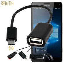 USB-C 3.1 Type C Male to USB 2.0 Cable Adapter OTG Data Sync Charger Charging Connector for Microsoft Lumia 950XL / 950
