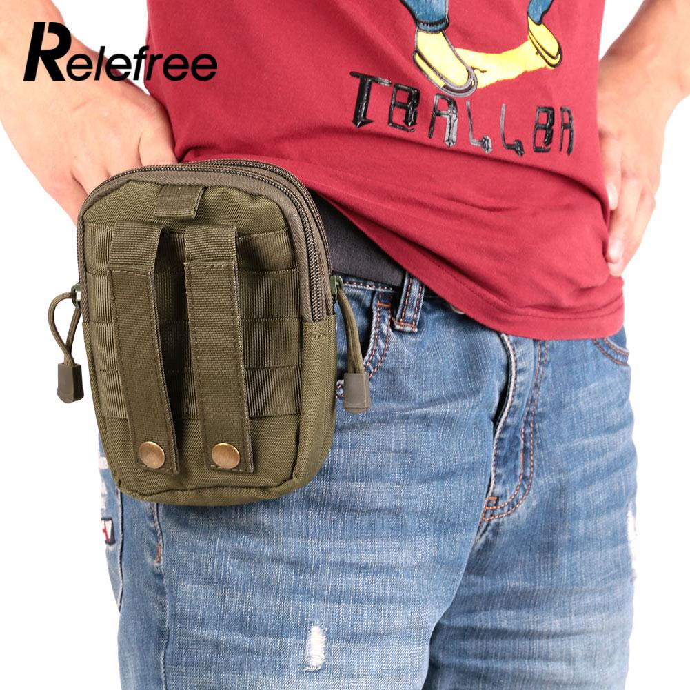 Security & Protection Sport Tactical Military Molle Waist Pack Bag Camping Hiking Pouch Purse Tactical Thunder Pockets Outdoor Tactical Package