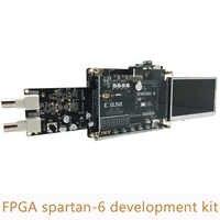 Xilinx Spartan 6 Scheda di Sviluppo FPGA Kit comprende FPGA spartan 6 bordo di sviluppo AD/DA modulo e 4.3 pollice TFT LCD XL011
