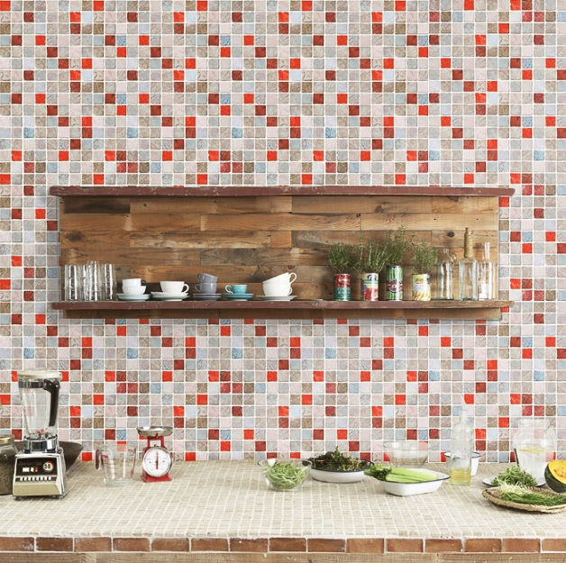 Kitchen Backsplash Red popular red kitchen backsplash-buy cheap red kitchen backsplash