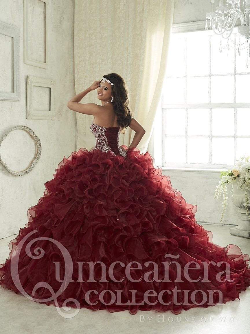 64bba4183b Ball Gown Sweetheart Quinceanera Dress | Saddha