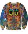 Unisex Winter Autumn Spring Sweatshirts 3D Fashion Saintart Sweatshirt trippy sun face Crewnecks Sweats Hoodies For Women/Men