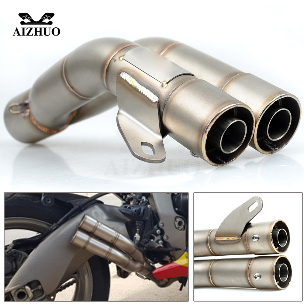 Tuyau d'échappement de moto de 36mm-51mm pour yamaha xt 600 xmax 300 bmw f800r suzuki sv650 sv 650 honda shadow cb400 Pit Bike