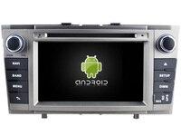 Android 8.0 автомобиль DVD GPS для Toyota Avensis 2008-2013 поддержки DVR WI-FI DSP dab OBD автомобиля мультимедиа авто octa8 core 4 ГБ Оперативная память 32gbrom
