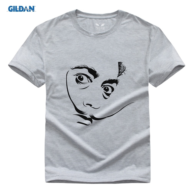 941a6b40e Salvador Dali Domingo Felipe Spain Artist Print Original Design Fashion  Style Casual Cotton T-shirt Men Clothing Tee Tops