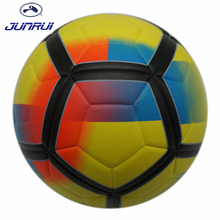 JUNRUI Champions League Soccer Ball League Football Anti-slip Granules Football Ball PU Size 5 Balls JB608