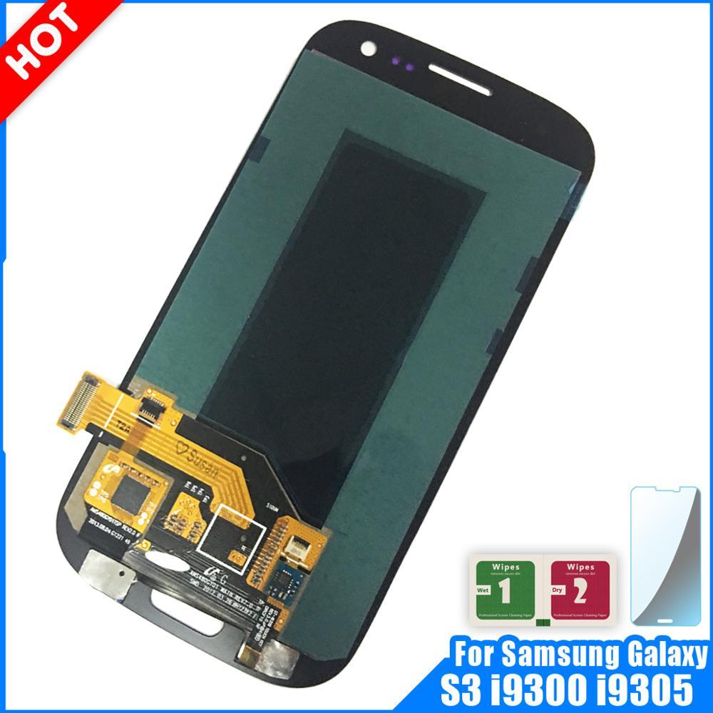 Super AMOLED LCD Display For Samsung Galaxy S3 i9300 i9300i i9301 i9305 Display Touch Screen Digitizer Assembly S3 i9300 LCDSuper AMOLED LCD Display For Samsung Galaxy S3 i9300 i9300i i9301 i9305 Display Touch Screen Digitizer Assembly S3 i9300 LCD