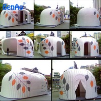 T053 Free shipping by DHL giant large party event bubble camping air dome price camp inflatable houes tent with blower for sale