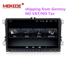 1024×600 Android 8.1 di gps radio per VW polo golf passat tiguan skoda yeti superb rapid autoradio multimedia con WIFI