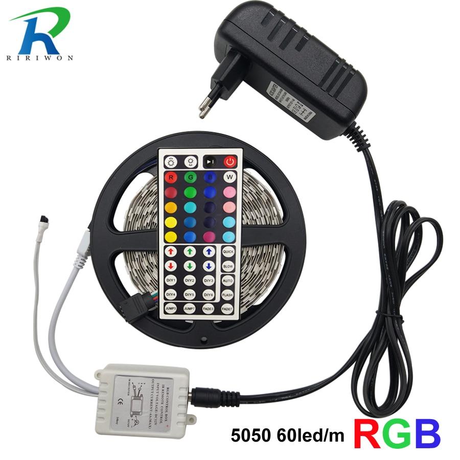 LED traka 5M 10M 5050 SMD fleksibilna vrpca RGB RGBW LED traka - LED Rasvjeta - Foto 5