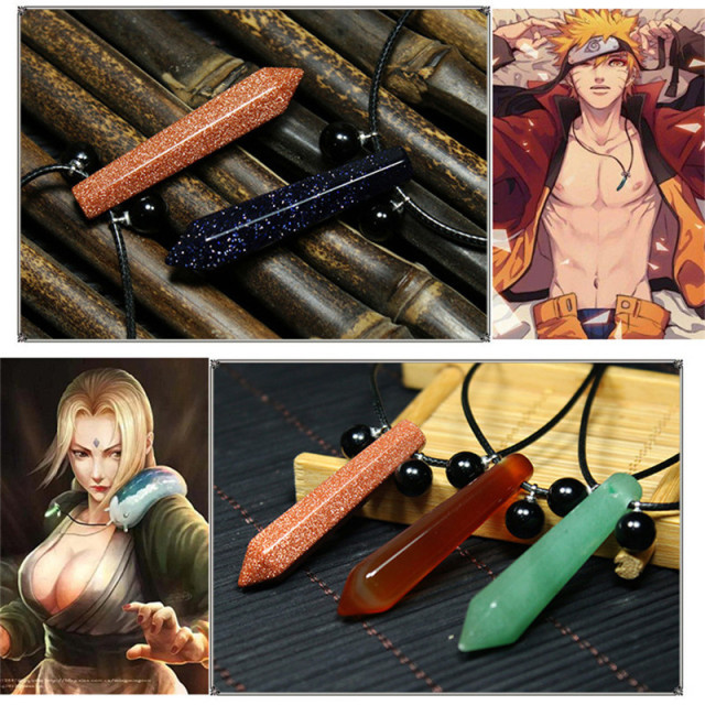 Naruto Tsunade Necklace Pendant Cosplay