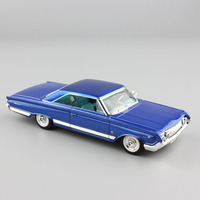 1:43 Scale miniature classic antique 1964 Ford Motor Mercury Marauder diecast model cars toy vehicles collectible for baby boy