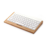 For Apple Bluetooth keyboard support wood keyboard wood bracket Bluetooth keyboard care computer keyboard support
