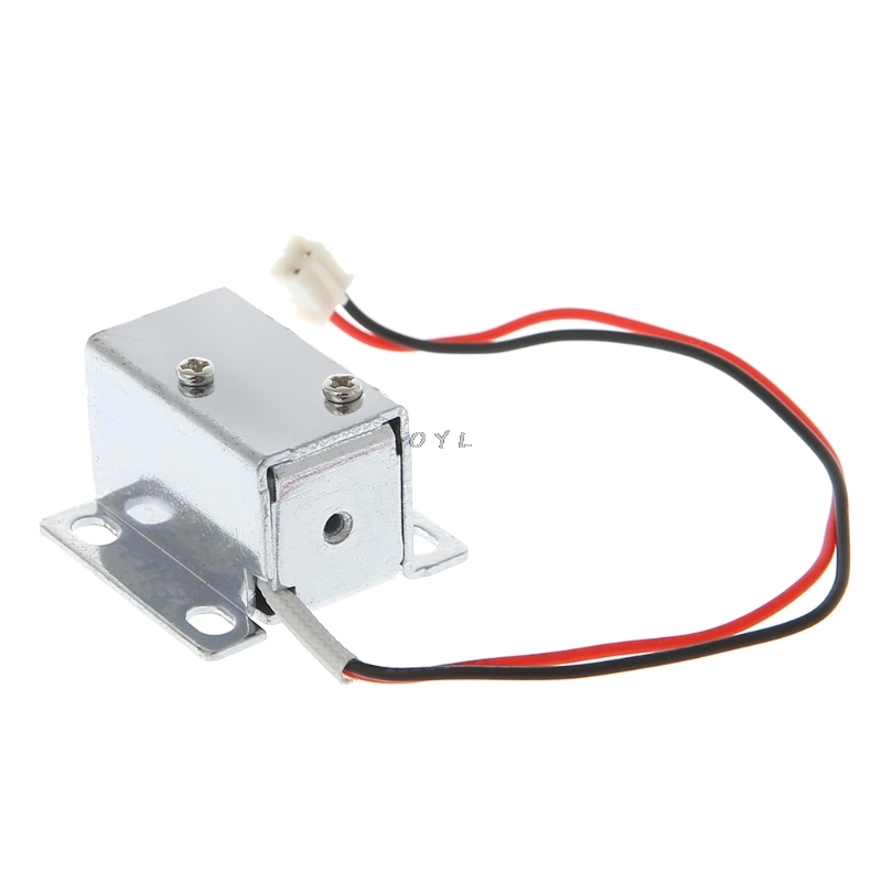 Image 2 - Electronic Lock Catch Door Gate 12V 0.4A Release Assembly Solenoid Access Control-in Electric Lock from Security & Protection