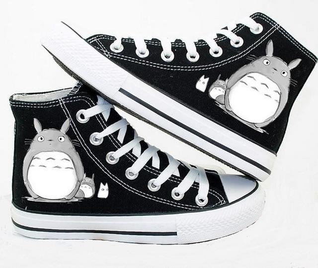 Anime Totoro Printed Unisex Shoes