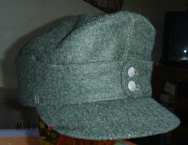 Collectable M43 WWII German Elite Military ARMY Field Hat Wool Cap4