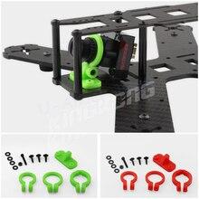 1 компл. Универсальный Kingkong FPV-системы мини Объективы для фотоаппаратов Mount регулируемый держатель для RC Quadcopter Racing Drone