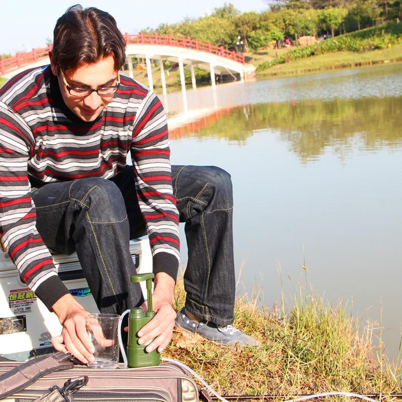Miniwell L610 отдельных готовности элементы насос фильтр для воды системы для активного отдыха на природе и рыбалка