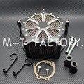 Motocicleta Sistema de Corte Profundo 951 Air Filter Cleaner Intake Se Encaixa Para Harley Sportster 883 XLH1200 04 ~ 15