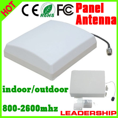5pcs/lot Outdoor Panel Antenna 9dBi 800mhz-2500MHz GSM 3G WIFI DCS WCDMA UMTS Cell Phone Booster Antenna 3G Antenna