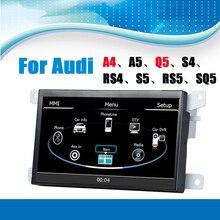Para Audi A4 sistema de navegación del GPS del coche reproductor de Audio Video sistema con bluetooth pantalla táctil apoyo control del volante