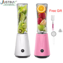 Blender Mixer Portable Mini Juicer Mesin Jus Smoothie Rumah Tangga Kecil Juice Extractor Baru DROP(China)