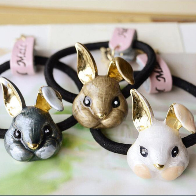 Cute Cat Fox Rabbit Hairband Hair Accessary Gift 3