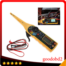 Car power Electric  Auto Circuit Tester Multimeter Lamp Repair Automotive Electrical Digital Screen 0V-380V