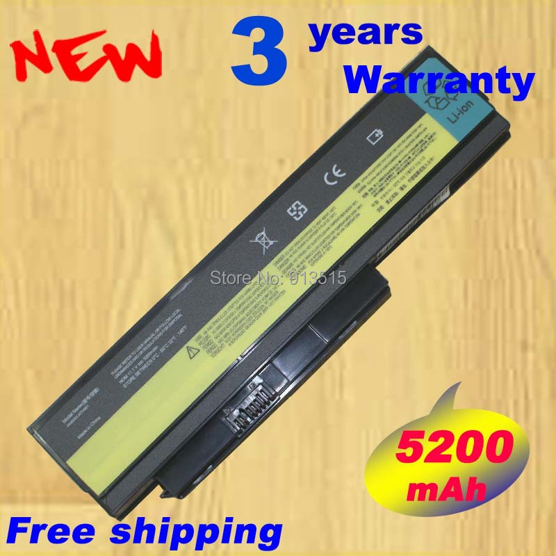 5200MAH Laptop Battery For Lenovo ThinkPad X220 X220i 0A36282 42T4875 ASM 42T4862 FRU 42T4863 42T4873 42Y4868 42T4861