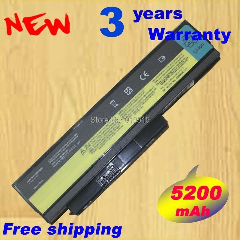5200 mah Batterie D'ordinateur Portable Pour Lenovo ThinkPad X220 X220i 0A36282 42T4875 ASM 42T4862 FRU 42T4863 42T4873 42Y4868 42T4861